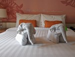 Salil Hotel towel elephants