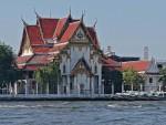 Temple along the Chao Phraya