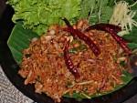 Crispy Rice Salad at Vientiane Kitchen, Bangkok