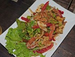 Crispy Eggplant Salad at Vientiane Kitchen, Bangkok