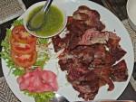 Fried Pork Leg at Vientiane Kitchen, Bangkok