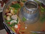 Hot Sour Seafood Soup at Vientiane Kitchen, Bangkok