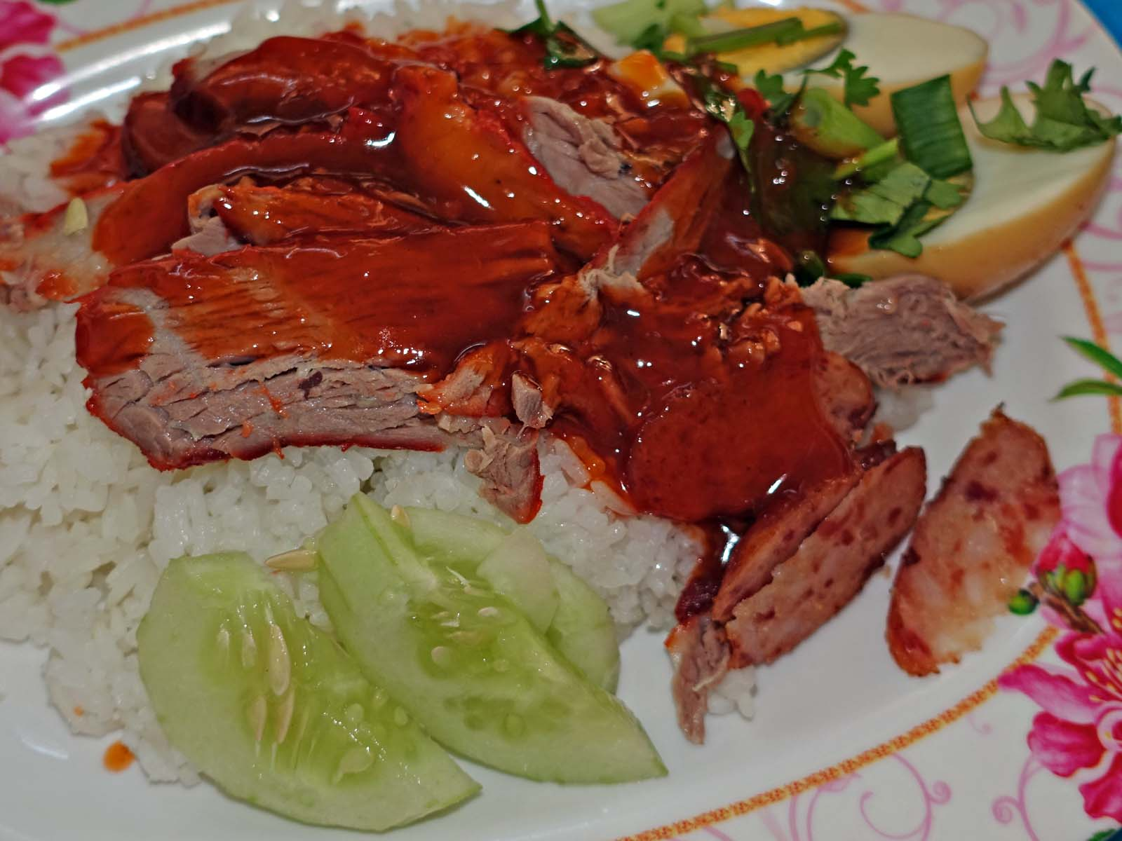 Red-Cooked Pork over Rice, Chiang Kham – Tasting the World