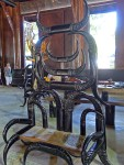 Chair at the Black House Museum, Chiang Rai