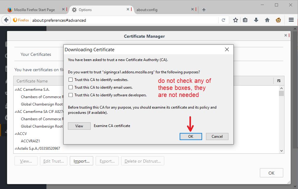 Firefox Extension Verification May 2019 — jeffersonscher com