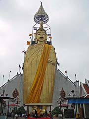 Insanely tall standing Buddha