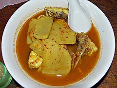 Fish in sour curry