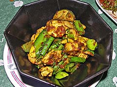 Hot Southern style curry chicken