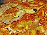 Banana roti ready for eating