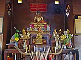Shrine at Wat Tawan Tok, Nakhon Si Thammarat
