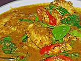 Curry fish, Samila Sea Sport restaurant, Songkhla