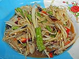 Green papaya salad, Sra Morakot